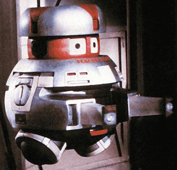 Vincent (Vital Information Necessarily Centralized) from The Black Hole movie, 1979.