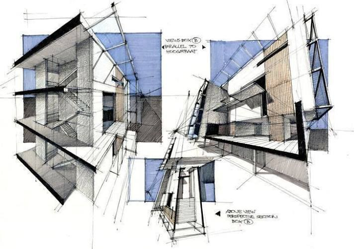 Hand Made Drawings are still the best Art in Architecture