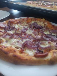 Recept mám od kamaráta a on ho má tiež od kamaráta, Taliana, ktorý vlastní pizzeriu v Taliansku, takže tento recept je terno.
