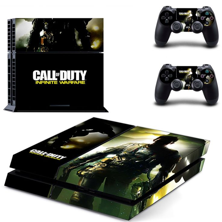 *NEW* PS4 SKIN Call Of Duty Infinite Warfare Features : - (2) Controller Skins - (1) Console Skin