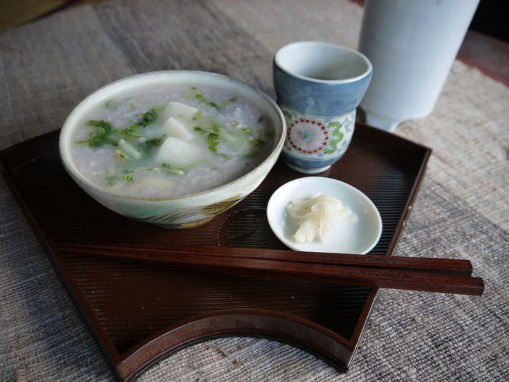 長崎の七草粥は餅入り