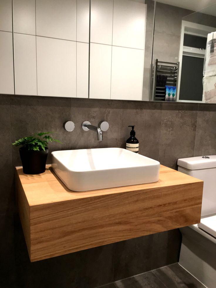 Custom Timber Vanity - Bringing warmth to your bathroom