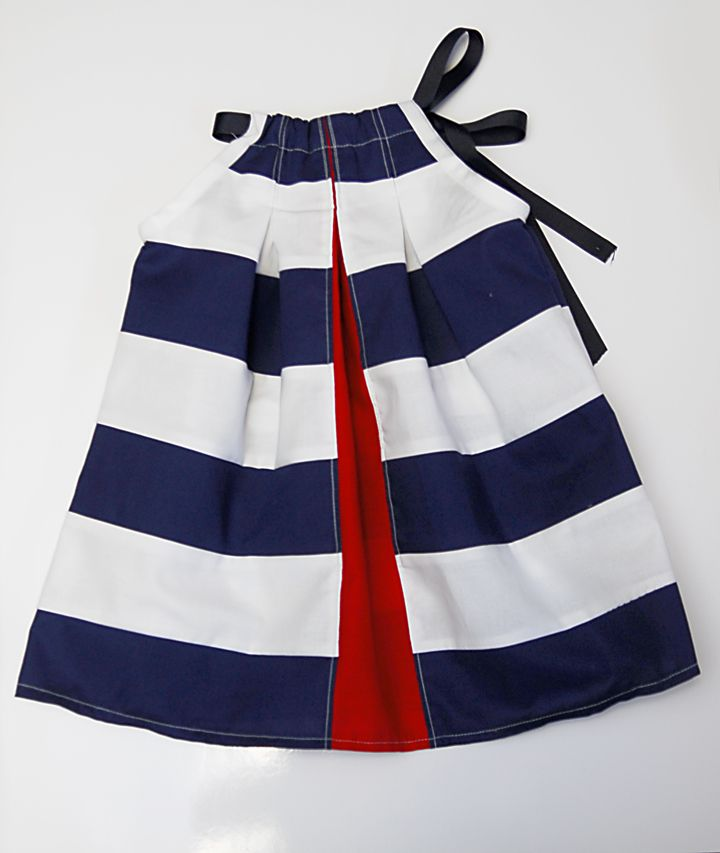 I am going to use this girls dress pattern to make a red, white and blue purse for the summer.
