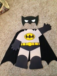 Super Hero Bulletin Board Ideas! Just add faces! Planet Happy Smiles: Monday Made It