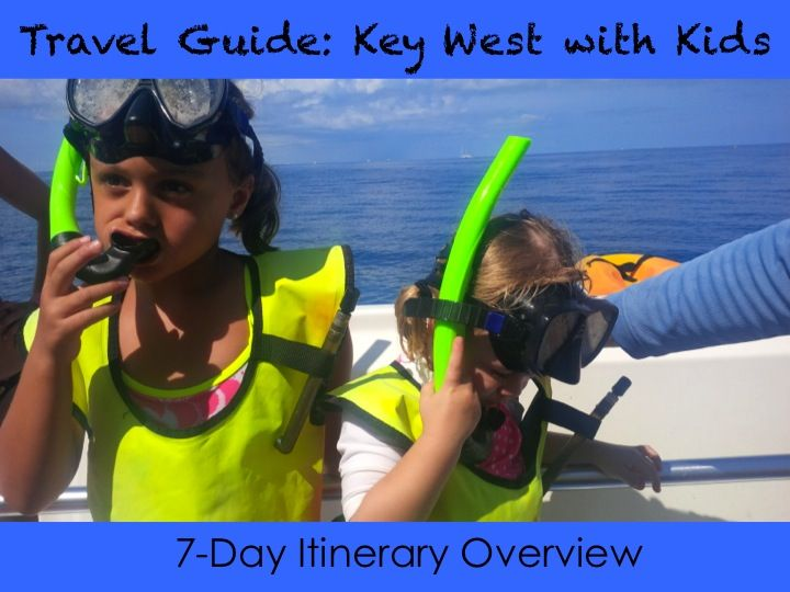 Plan a family vacation to Key West with kids! Yes, Key West is a great, beautiful spot for wonderful family fun, exceptional dining and carefree days! This overview provides an itinerary that's great for a family in Key West! #travelsolutions #familytravel
