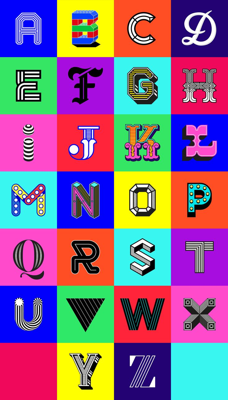'Alphabetica' is an eclectic round up of customised letters created in all my favourite typographic styles. Inspired by the 36 Days of Type Project, although missing the submission period for entry from earlier this year. I challenged myself to create a…