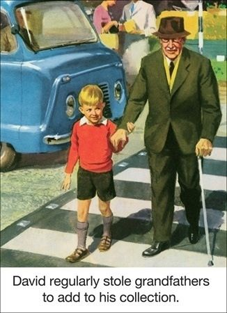 "from the Ladybird book ""Collecting Humans"", 1965"