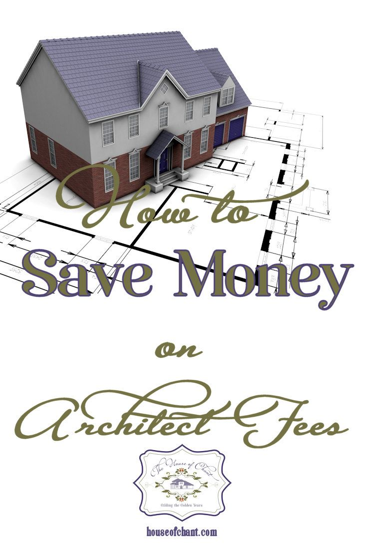 Save money on #architect #fees by creating your own plans and taking them to an architect for review and to create blueprints. #savemoney  via @HouseofChant