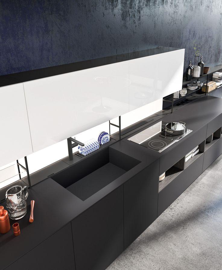 Oltre 10 fantastiche idee su piani cucina su pinterest for Piani di garage moderni