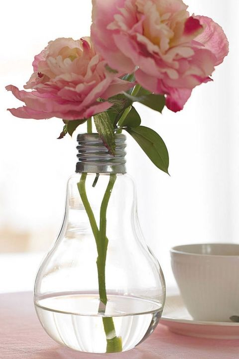 Not On The High Street Lightbulb Vase, £12.95
