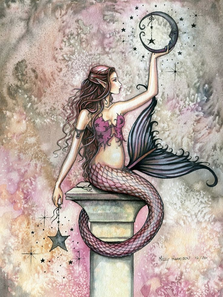 Molly Harrison Celestial Mermaid