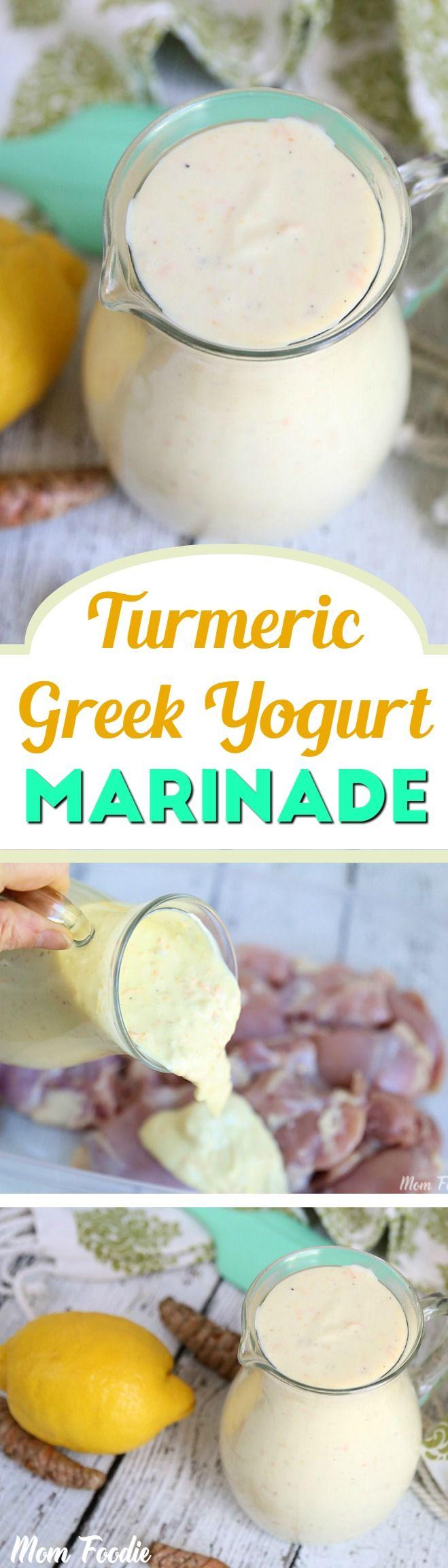 Turmeric Greek Yogurt Marinade Recipe