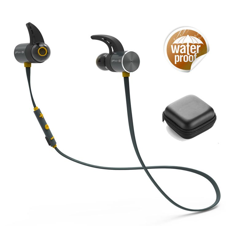 PLEXTONE BX343 Sport IPX5 Waterproof Dual Battery Magnetic Wireless Bluetooth Earphone With Mic  More Details: Features: Product description Great Sound Great Fit Untether yourself from the 3.5mm shackle avoid the tangle of wired headphones go wireless. A lightweight and comfortable addition to any commute or work out the BX343 is adaptable to the unique shape of your ears with 3 included ear-tip sizes and stable-fit ear-supports. With a comfortable secure fit comes great sound excellent…