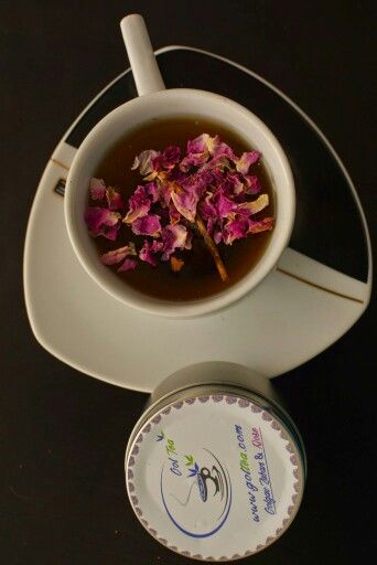 Rose and borage blend teas will make you feel healthy Www.goltea.com