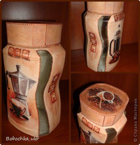 Декор предметов Декупаж Баночный хоровод Банки стеклянные фото 1