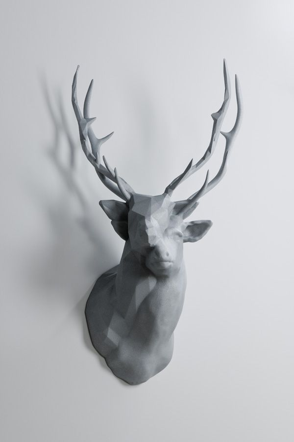 'This is an intriguing new sculptural piece by artist Kohei Nawa entitled Polygon Double Deer #2. Photograph by Omote Nobutada courtesy Sandwich.'