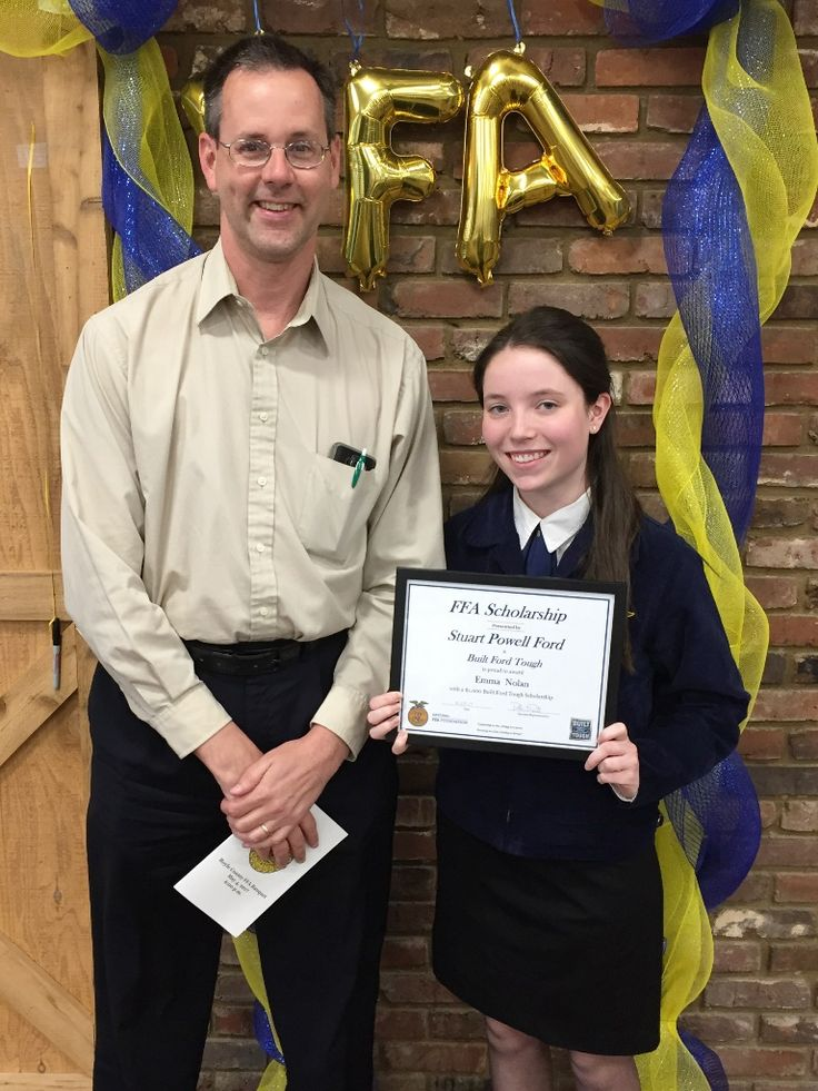 A 2017 National #FFA scholarship was awarded to Boyle County student, Emma Nolan.