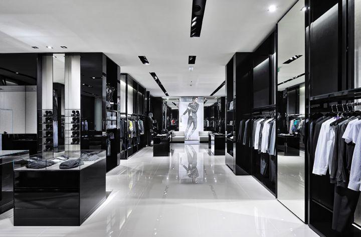 Emporio Armani store by Giorgio Armani, Belgrade