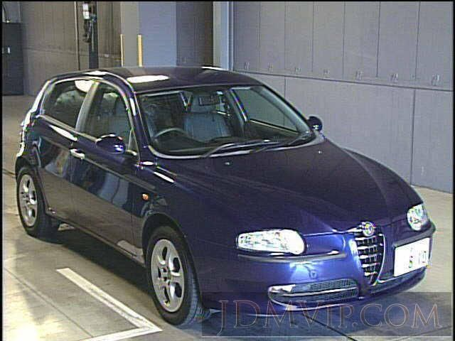 2003 ALFAROMEO ALFA ROMEO 147  937AB - http://jdmvip.com/jdmcars/2003_ALFAROMEO_ALFA_ROMEO_147__937AB-2R1rCXUheJuIEOo-7215
