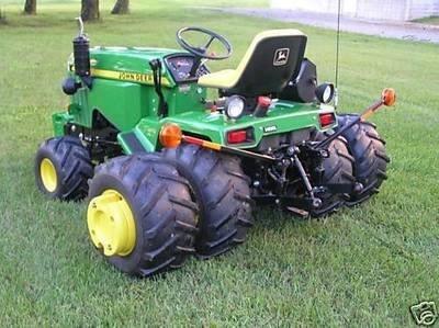 A bodacious garden tractor!