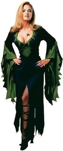 Halloween Damen Kostüm Hexe Hexenkostüm Spinne Gr. M von Rubies, http://www.amazon.de/dp/B005K8S10I/ref=cm_sw_r_pi_dp_Ngqisb016NTWR