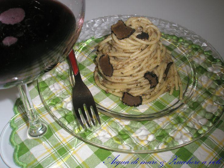 Spaghetti+al+tartufo+nero
