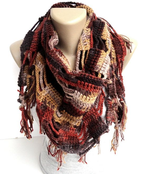 Mothers day gifts women scarf fall color scarf by senoAccessory, $35.00