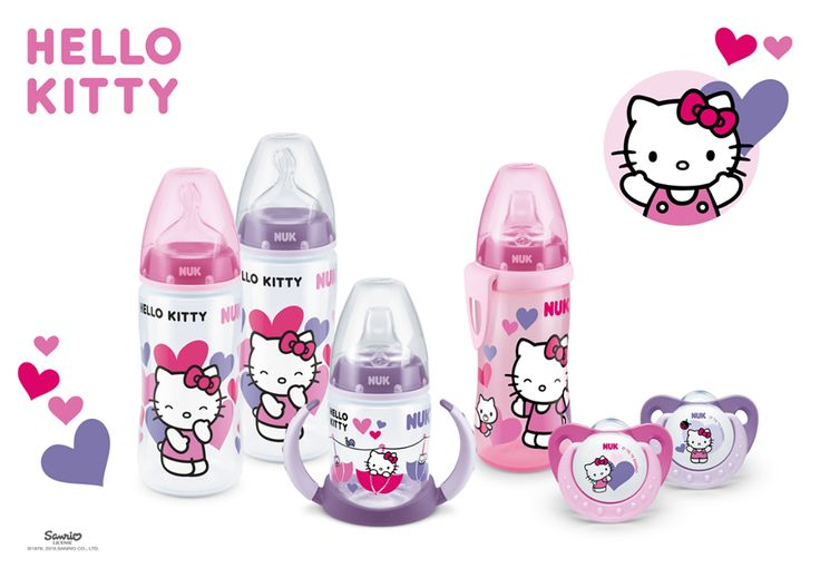 A gatinha que todas as meninas adoram, bebés e mamãs :) ... Mais info: www.nuk.pt