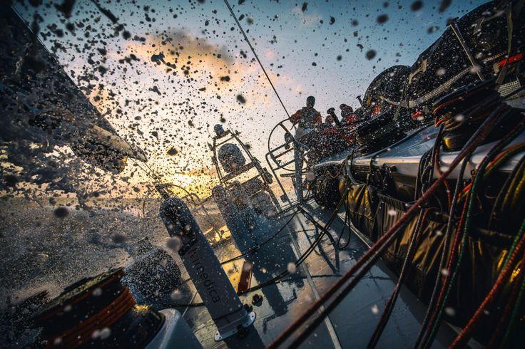 February 10, 2015. Leg 4 onboard Team Alvimedica.