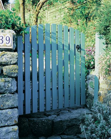17 meilleures id es propos de portail bois sur pinterest for Porte de jardin exterieur