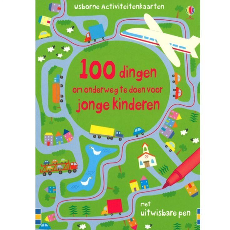 100 dingen om onderweg te doen voor jonge kinderen | usborne