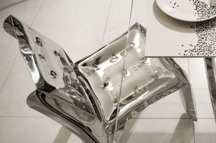 bird pattern designed by Oskar Zieta.  CHIPPENSTEEL chair: https://shop.zieta.pl/pl,p,1,22,chippensteel___krzeslo.html