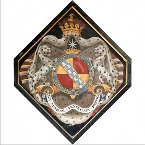 Hatchments of the Duke of Dorset / Sackville Arms / - Funerary Coats of Arms and practices -