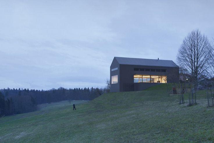 The Black Barn- Hill view