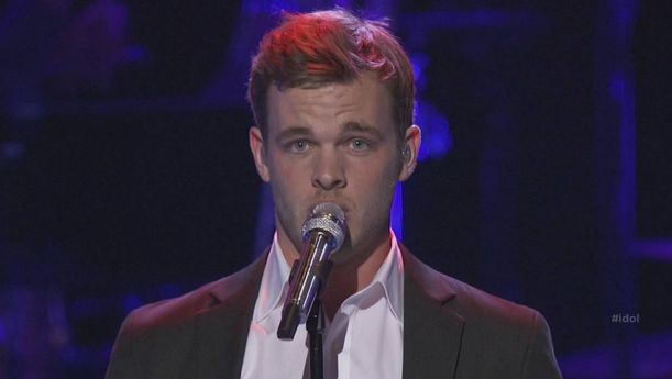 "Clark Beckham performed his version of ""When a Man Loves a Woman"" by Percy Sledge on American Idol Season 14 Top 12 Guys performance night on Wednesday, February 25, 2015."