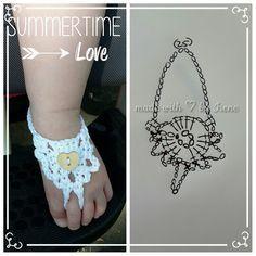 Irene haakt: Blote voet sandaaltjes (met gratis patroon)