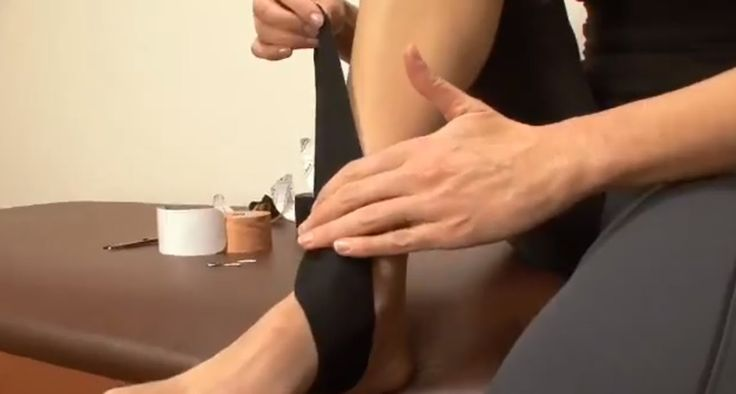 Kinesiology Taping for Shin Splints - Tape Yourself