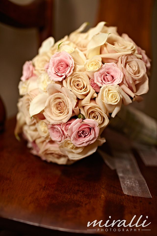 Brides multi-color rose bouquet #bouquets # ...