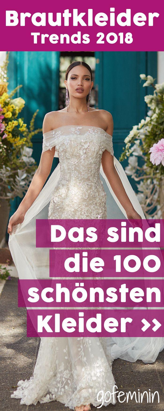 Brautkleider 2018  DAS sind die 100 schönsten Kleider ... 575a32f97b