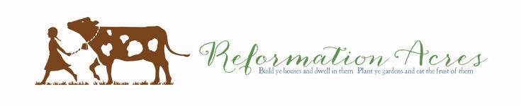 Reformation Acres. Homesteading binder organization.