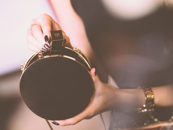 Black & Gold - Fashion Mumblr Tom Ford Lipstick and Reiss handbag