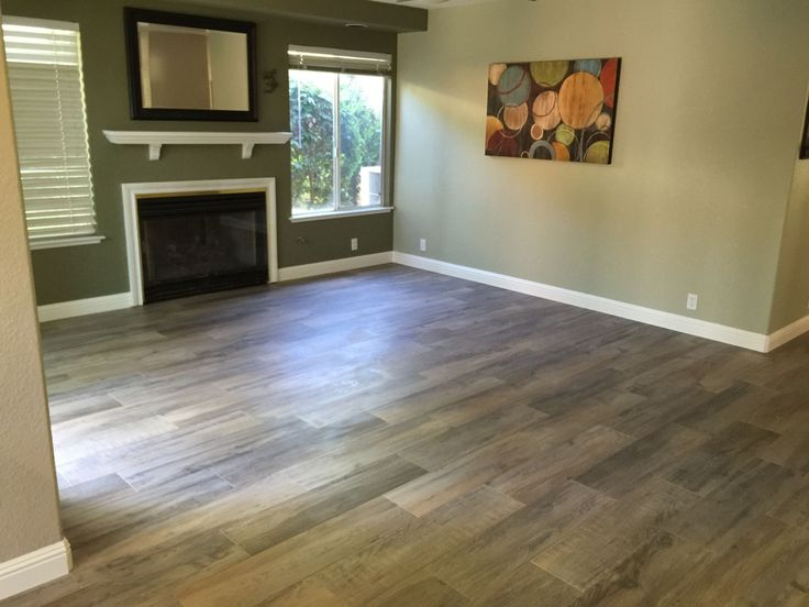 """Happy Floors Northwind Collection Color Melange  9"""" X 36""""  Wood Look Porcelain Tile Plank Manufactured In Italy. Rectified Edge With a 1/16th Inch Grout Line, Random Width Patterns and A Smooth Modern Texture."""