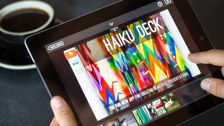 """Nobody ever says: """"Hey, I really enjoyed making this PowerPoint."""" Haiku Deck aims to change that. #apps #tech"""