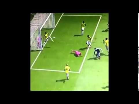 Incredible Goal on FIFA 15 - YouTube