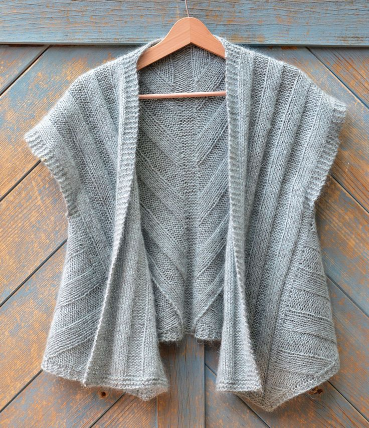 Ravelry: Kiba Vest pattern by Marianne Isager