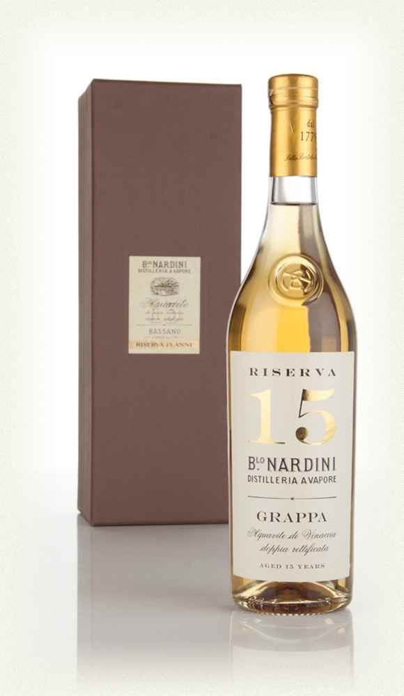 Nardini Grappa Riserva 15 Year Old 35cl