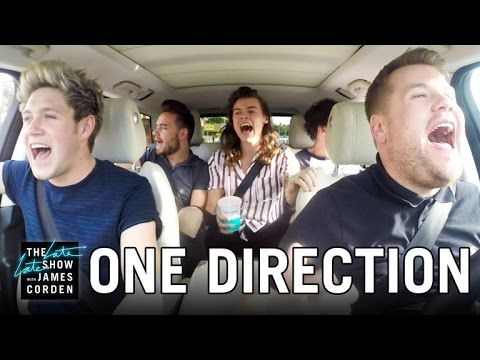 One Direction Carpool Karaoke OH MY GAWD YOU NEED TO SEE THIS LITERALLY DIED!!!! Thisis the definition of One Direction Perfection!!! I can't please halp!!!!!!!!!