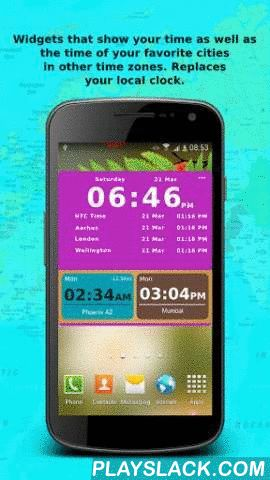 Bob's World Clock Widget  Android App - playslack.com , Bob's World Clock Widgets- YOUR COMPANION WHILE DEALING WITH THE LOCAL TIME OF DIFFERENT TIME ZONES.Do you often need to see the LOCAL TIME of various time zones because your FAMILY, FRIENDS AND COLLEAGUES RESIDE IN DIFFERENT COUNTRIES? Bob's World Clock can MAKE YOUR LIFE SIMPLE!A set of SIMPLE and BEAUTIFUL WIDGETS to show you the current local time of various locations/ time-zones in the world!Just add your favorite…