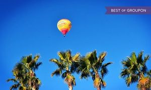 Groupon - Sunrise Hot-Air Balloon Ride for One or Two from Vegas Balloon Rides (Up to 47% Off). Four Options Available. in Las Vegas. Groupon deal price: $156