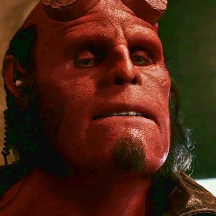Ron Perlman En Hellboy 2004 Ron Perlman Hellboy Movie
